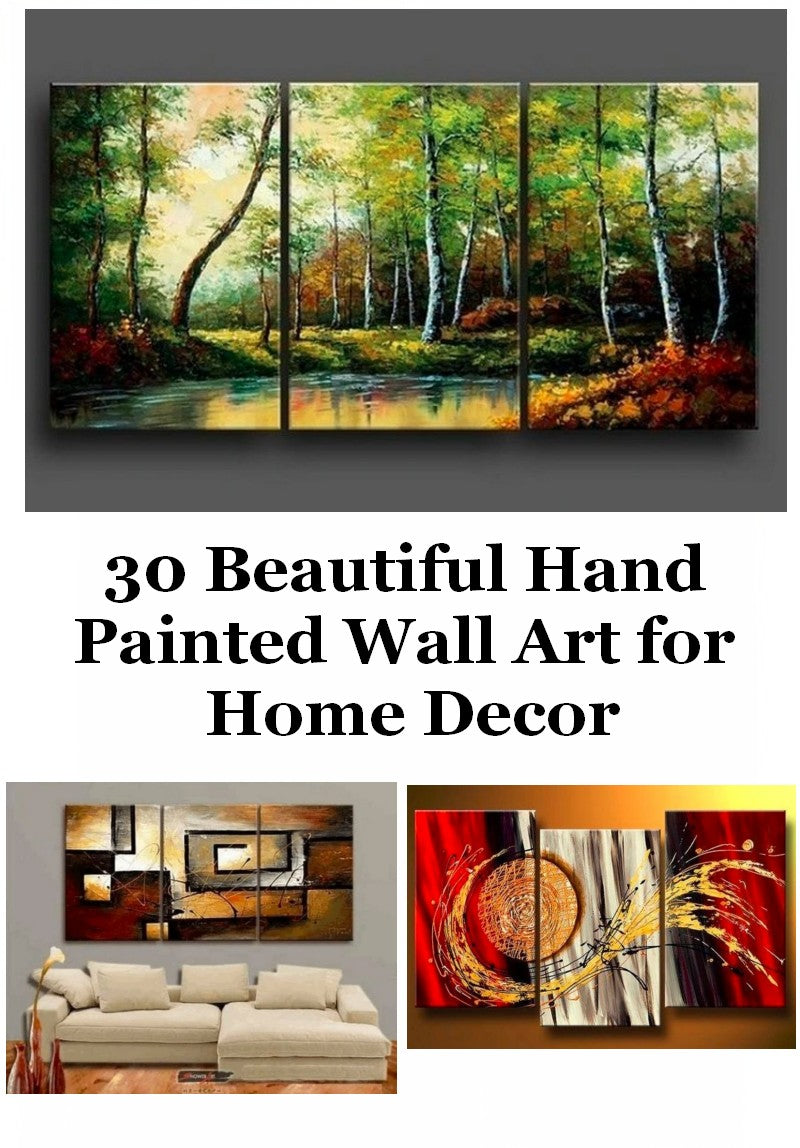 Beautiful Hand Pained Canvas Art, Landscape Paintings, Abstract Painting for Sale, Acrylic Painting for Living Room
