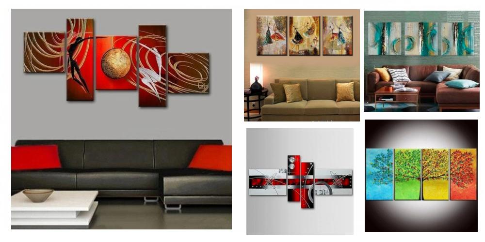 Canvas Painting for Dining Room, Simple Modern Art, Multiple Canvas Paintings, Modern Paintings for Dining Room, Dining Room Canvas Painting, Large Paintings for Dining Room