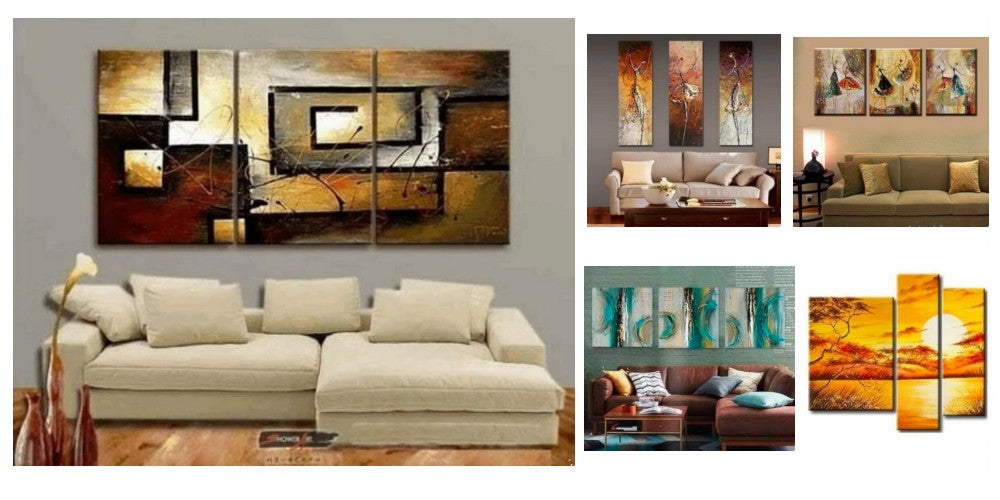 multiple canvas paintings, simple abstract art, modern paintings for living room, acrylic paintings for bedroom