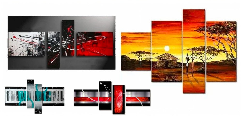 Multiple Canvas Paintings, Bedroom Canvas Painting, Modern Paintings for Living Room, Acrylic Wall Art Paintings, Simple Abstract Art, Buy Paintings Online