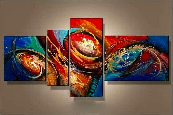 Living Room Wall Art, Abstract Painting on Canvas, Large Canvas Paintings for Living Room, Acrylic Painting Abstract