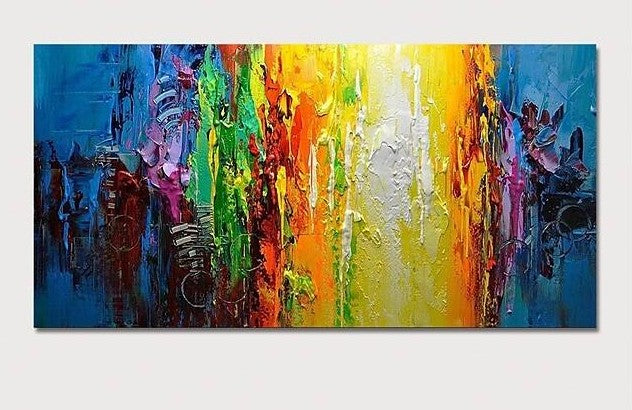 Contemporary Wall Art Paintings, Simple Modern Paintings for Living Room, Large Acrylic Paintings for Living Room