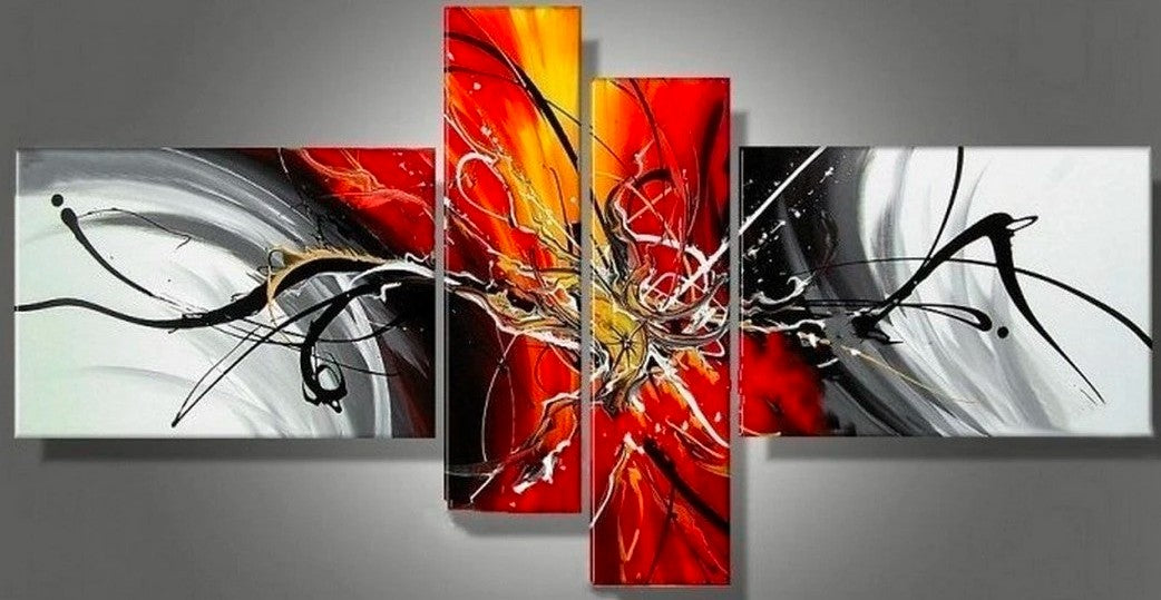 Living Room Large Paintings, Large Canvas Art, Abstract Large Paintings, Acrylic Large Paintings