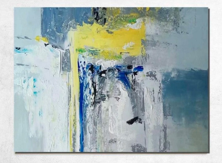 Abstract Acrylic Painting, Modern Abstract Art, Extra Large Paintings, Living Room Wall Painting