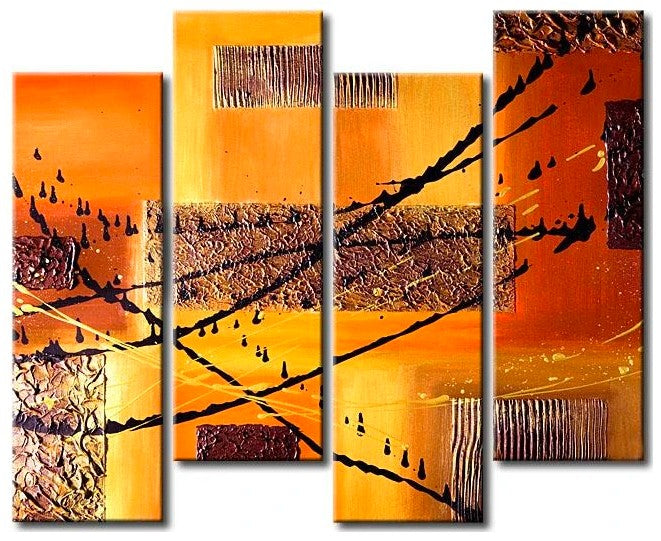 Abstract Acrylic Paintings, Acrylic Wall Art, Buy Paintings Online, Acrylic Art for Living Room