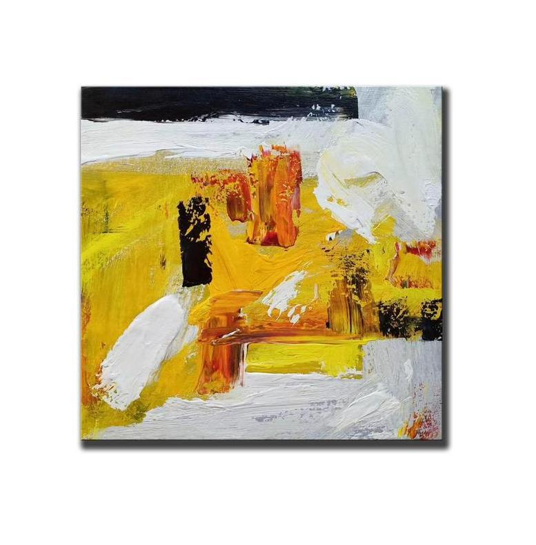 Modern Wall Art Painting, Large Paintings for Living Room, Acrylic Painting on Canvas, Contemporary Abstract Art Paintings-Grace Painting Crafts