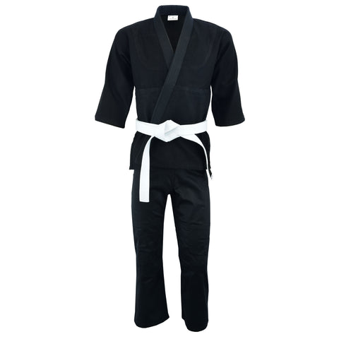 Judo Single Weave Black #1760