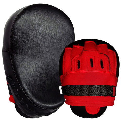 Focus Pad G/Leathe Black / Red