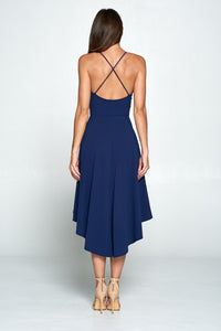 Waterfall Hi-Low Dress
