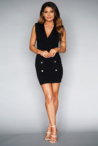 Boss Tux Mini Dress