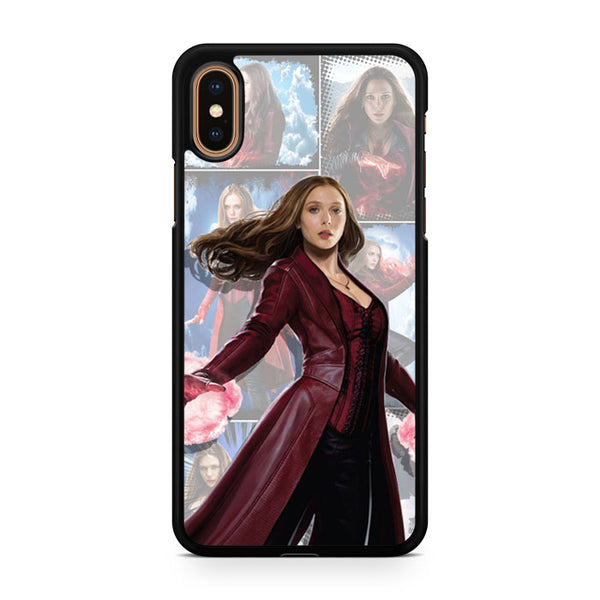 newest 4754a 36f5d Scarlet Witch AB iPhone Xs Max Case