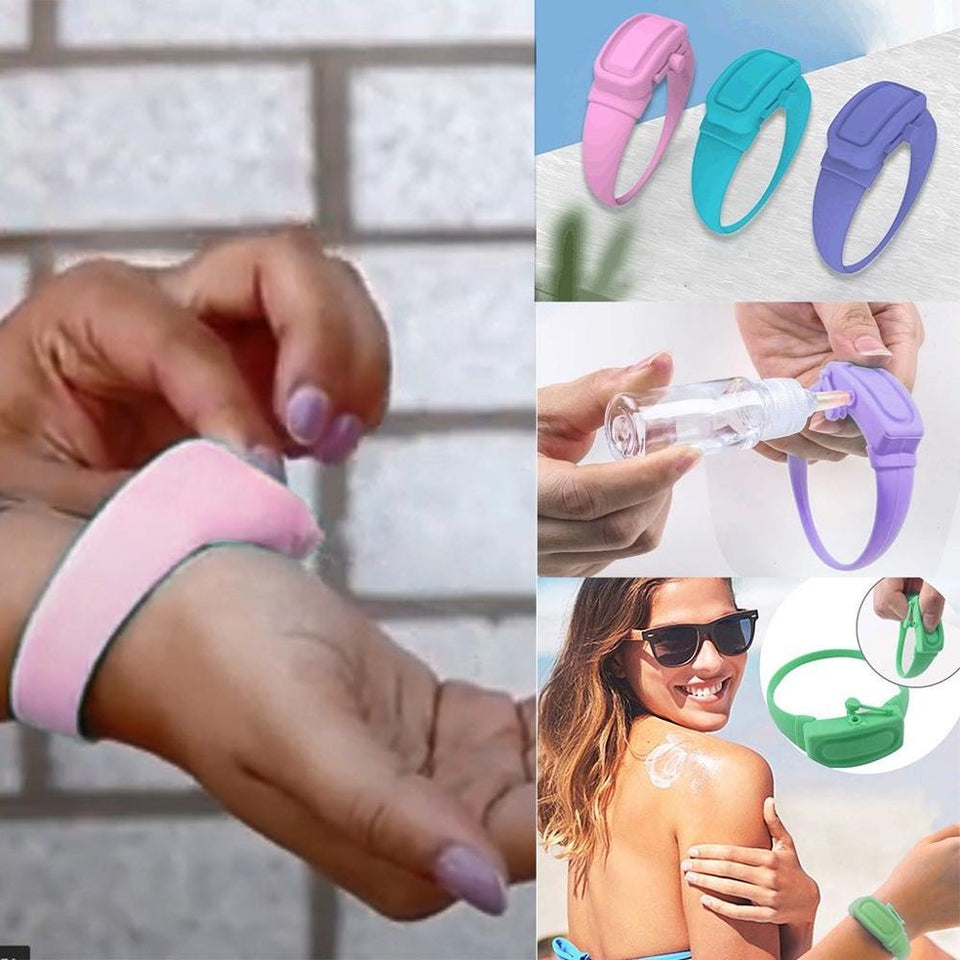 Wristband Hand Sanitizer (60% OFF TODAY!)