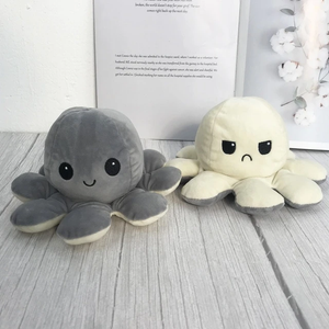 Reversible Mini Moody Octopus Plushie (60% OFF TODAY!)