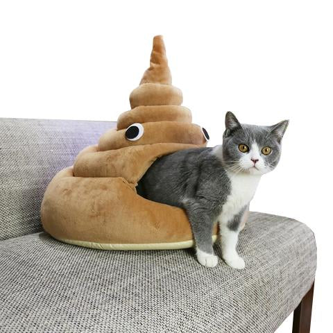 Funny Poop Cat Bed (60% OFF TODAY!)