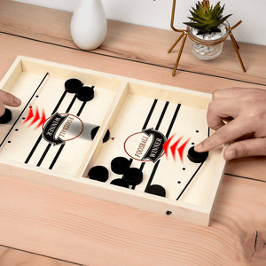 WOODEN  TABLE HOCKEY GAME (60% OFF TODAY!)