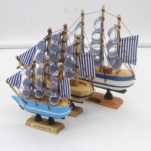 Wooden Sailing Boat Ship