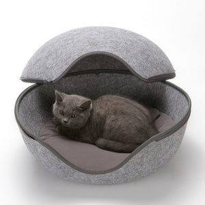 Egg Shape Cat Bed