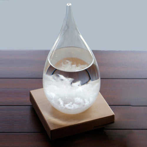 Transparent Droplet Storm Glass