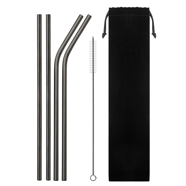 Reusable Stainless Steel Straws  (60% OFF TODAY!)