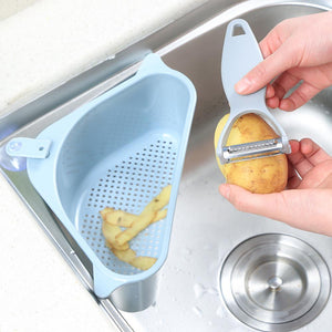 Super Practical Triangular Kitchen Sink Strainer (60% OFF TODAY!)