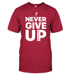 NEVER GIVE UP T-SHIRT (60% OFF TODAY!)