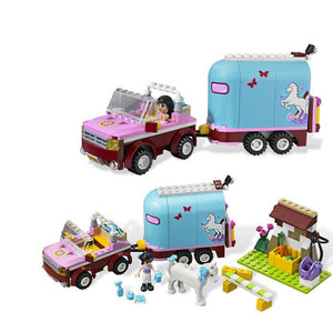 Building Block Set - Car and Float