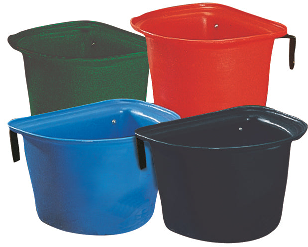 Roma Plastic Feed Bin With Bracket