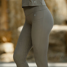 Load image into Gallery viewer, Horze Gracie Women's Silicone Full Seat Riding Tights