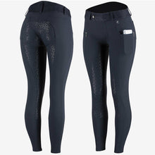 Load image into Gallery viewer, Horze Abrielle Women's Silicone Full Seat Breeches with Phone Pocket