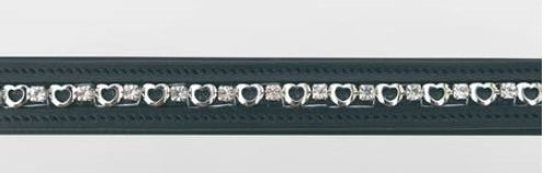 JHL Heart/Diamante Browband