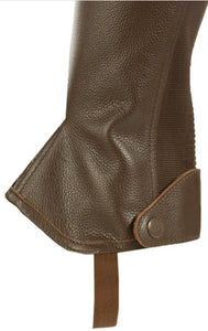 Horze Leather Half Chaps