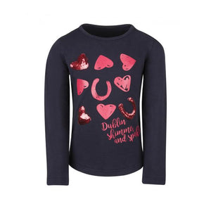 DUBLIN MOON LONG SLEEVE CHILD'S TOP