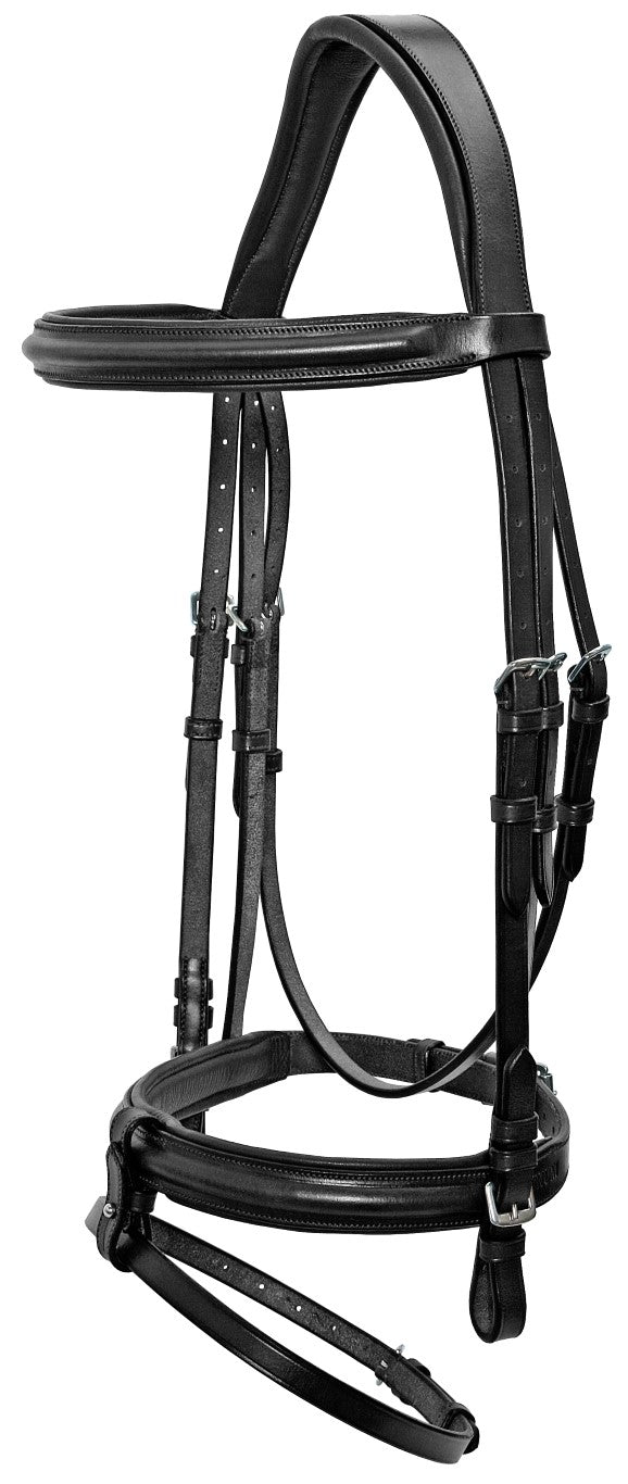 Platinium Shaped Head Hanoverian Bridle