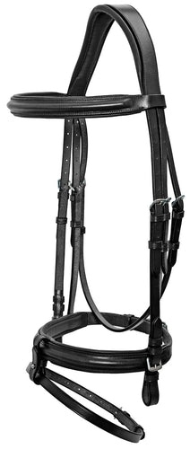 Platinum Padded Shaped Bridle