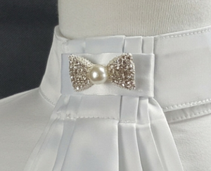 Showgirl Bling Bow Brooch