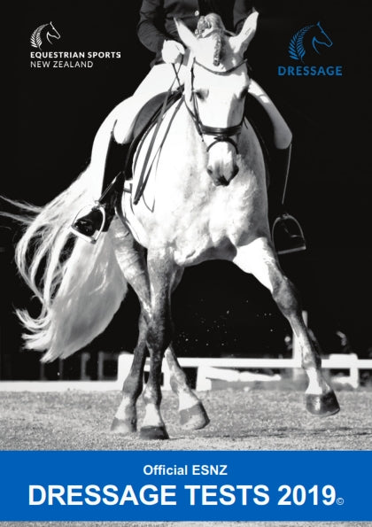 ESNZ Dressage Test Book 2019