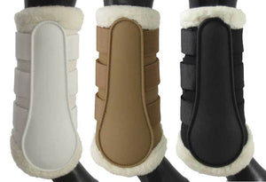 Equinenz Breathable Wool Brush Boots