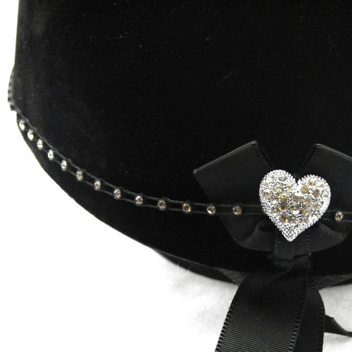 Elastic Diamante Hat Band