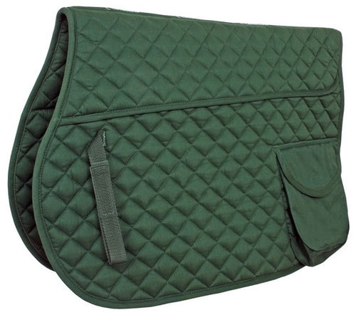 Flair Quilted Pocket Saddle Cloth