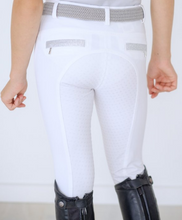 Load image into Gallery viewer, BEYOND THE BIT  ASPEN BAMBOO BREEECH WITH GLITTER TAPE