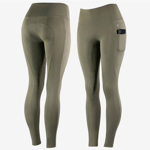 Horze Gracie Women's Silicone Full Seat Riding Tights