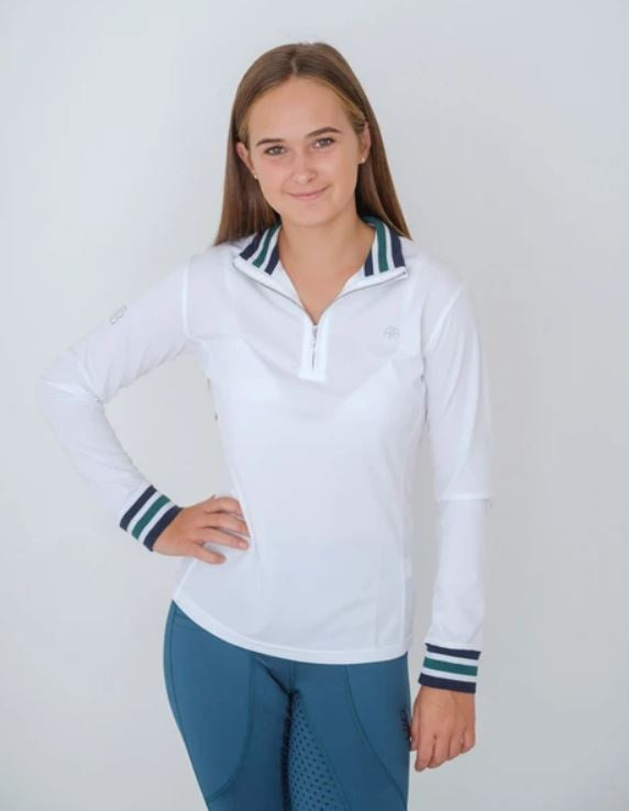Beyond the Bit Danni Long sleeve Zip Front Training Top