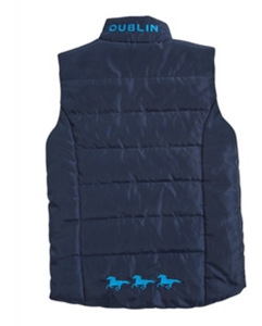 DUBLIN   FLOCKI CHILDS SLEEVELESS JACKET