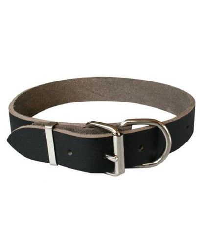 Drovers Leather Dog Collar