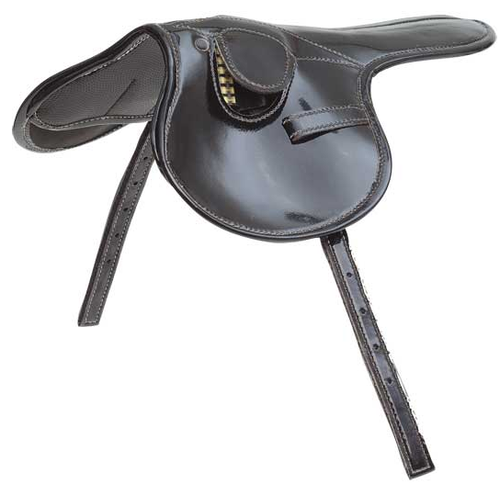 180g  PATENT RACE SADDLE