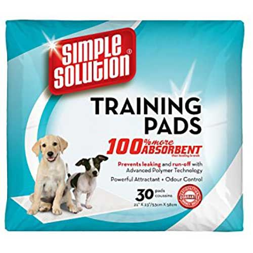 SIMPLE SOLUTION PUPPY TRAINING PADS 30 56 100