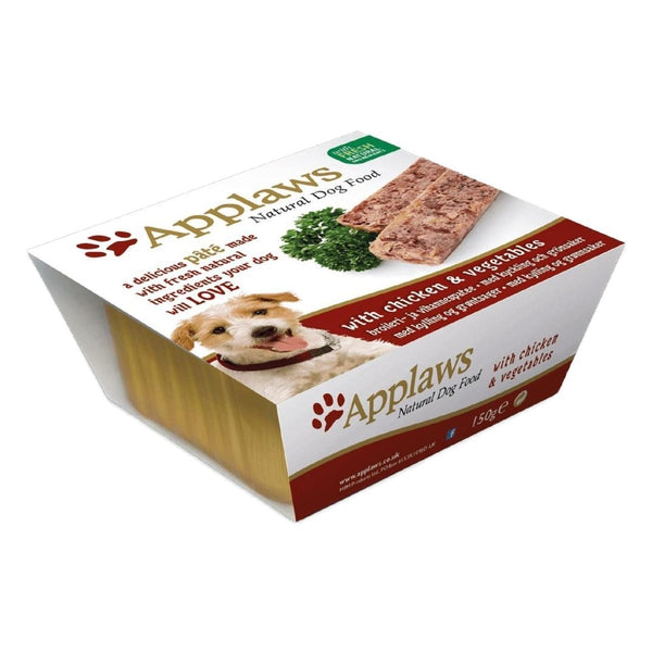 Applaws Dog Pate Chicken, 150g X 7