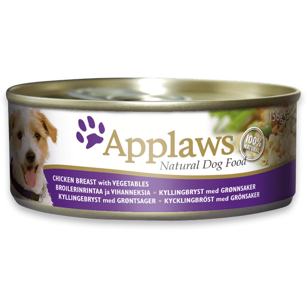 Applaws Dog Chicken & Vegetable, 156g X 12