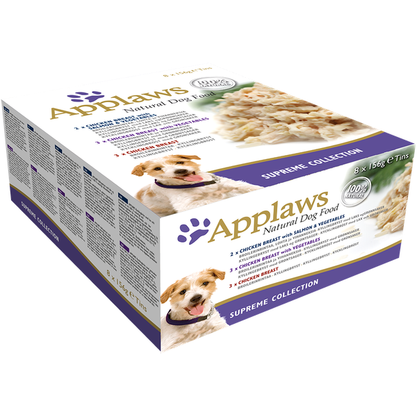 Applaws Dog Multi Supreme 8 Pack, 156g