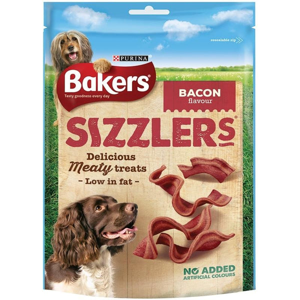 Bakers Sizzlers Bacon, 120g X 6